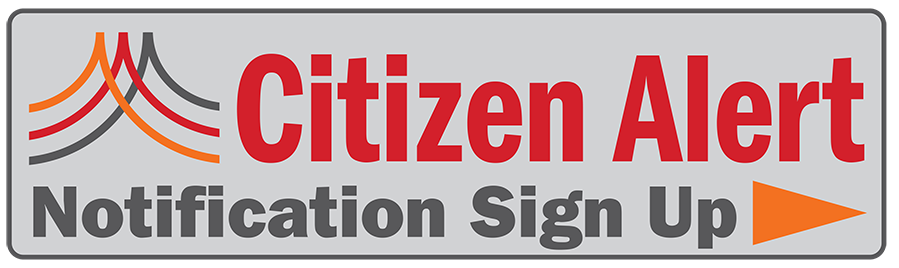 Citizen Alert Signup