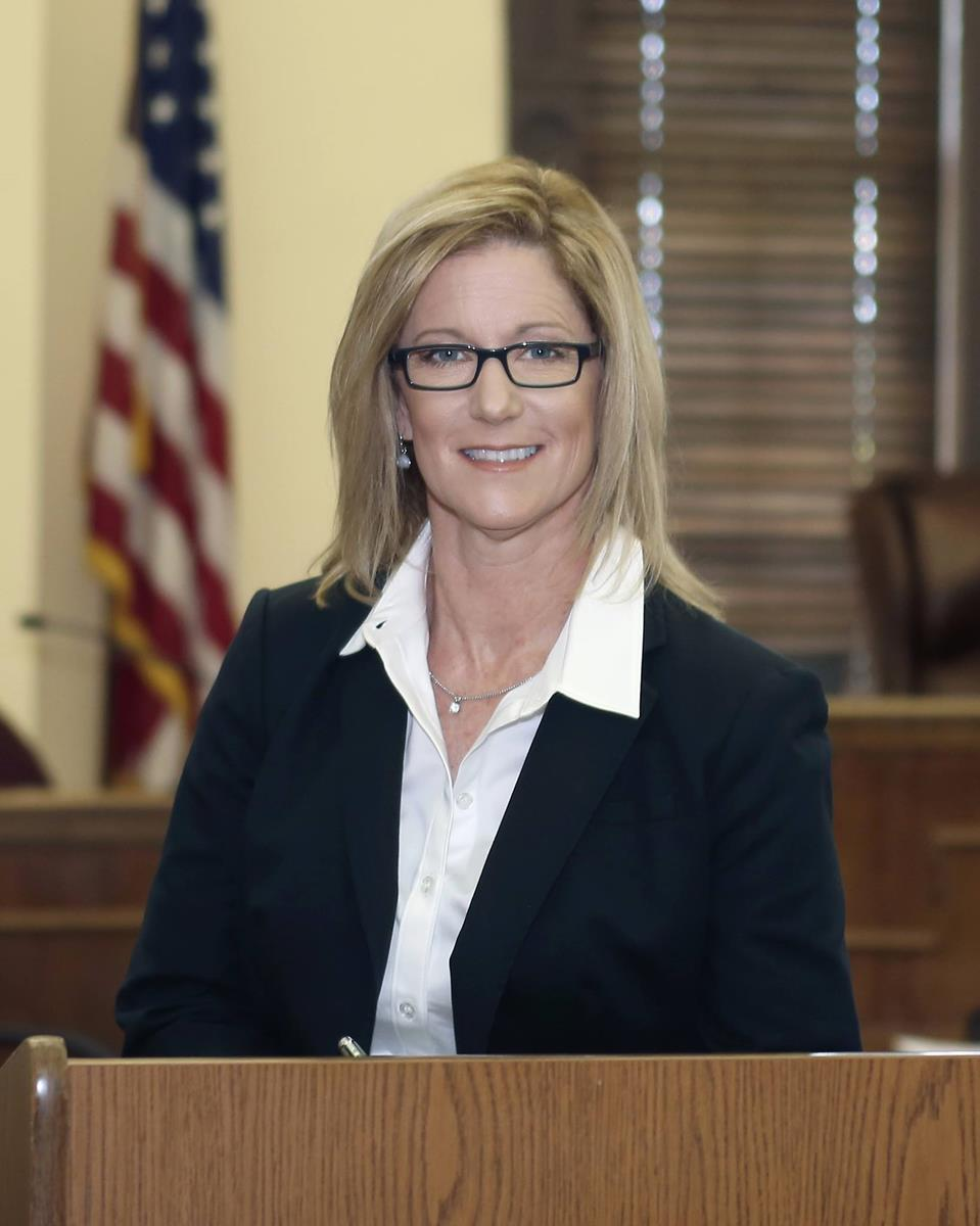 Photo of District Attorney Anne Pickle