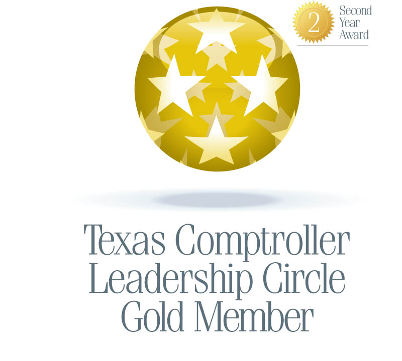 Texas Comptroller Leadership Circle Gold Member