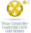 Texas Comptroller Leadership Circle Gold Member