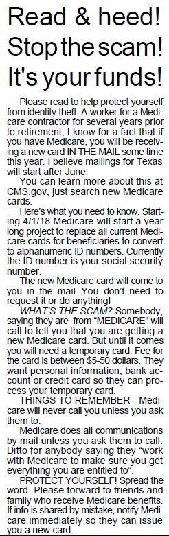 Medicare Alert
